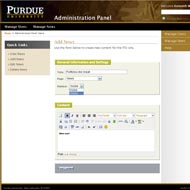 ITSI at Purdue